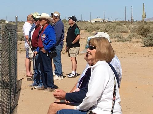 People Form Around The Community Watch The Flying At The Air Show On March 12, 2016