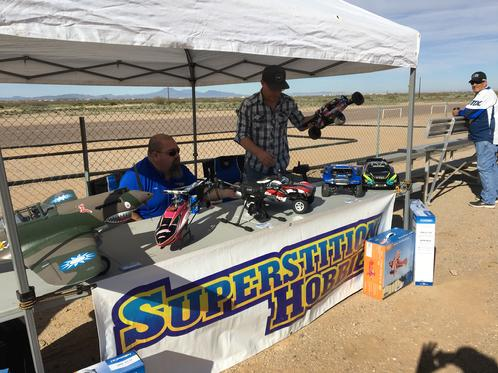 Superstition Hobby Displayed Airplanes, Cars and Helicopters